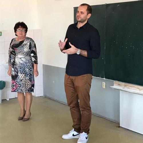 Pracovníci Slovenskej akadémie vied na našej škole