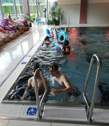 Plavecký kurz v hoteli Tenis
