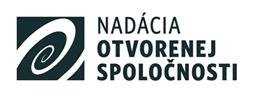 logo nadacia otvorenej spoločnosti