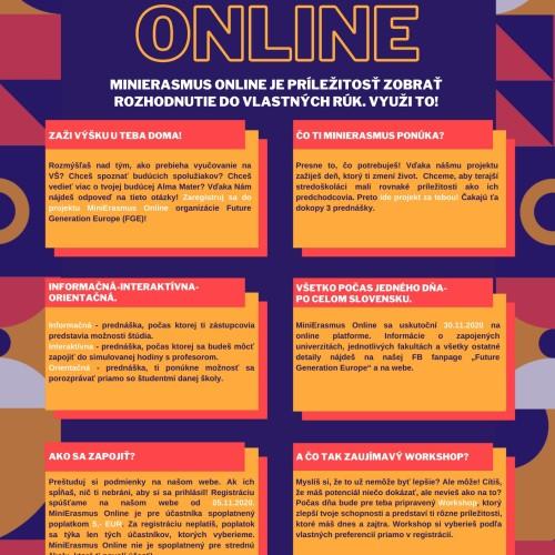 Minierasmus Online